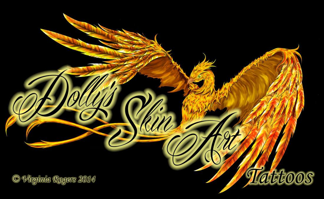 dolly's skin art tattoos kamloops logo art virginia rogers copyright 2014 phoenix mobile version