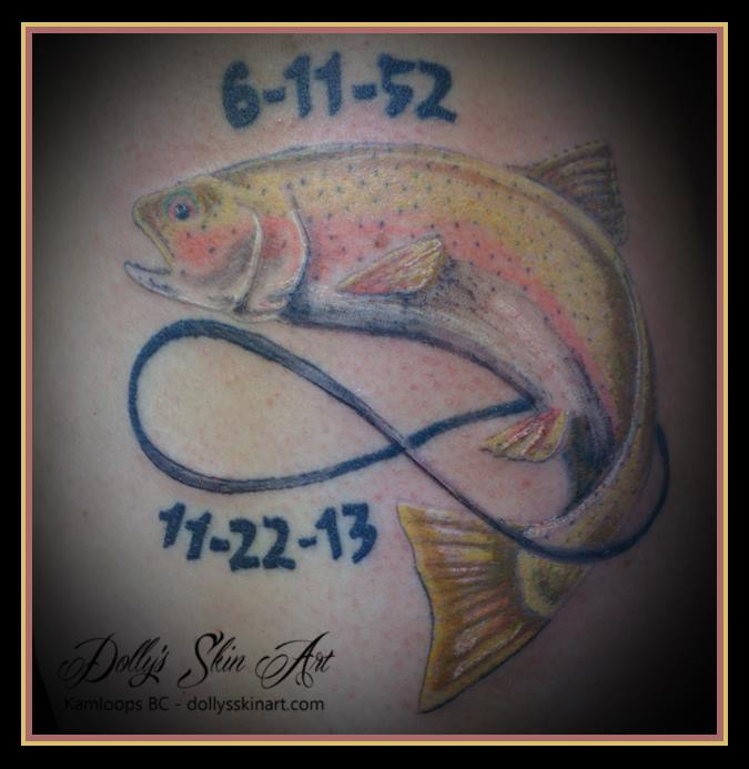 colour trout memorial metis tattoo