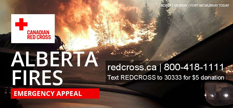 canada red cross alberta fires appeal donate